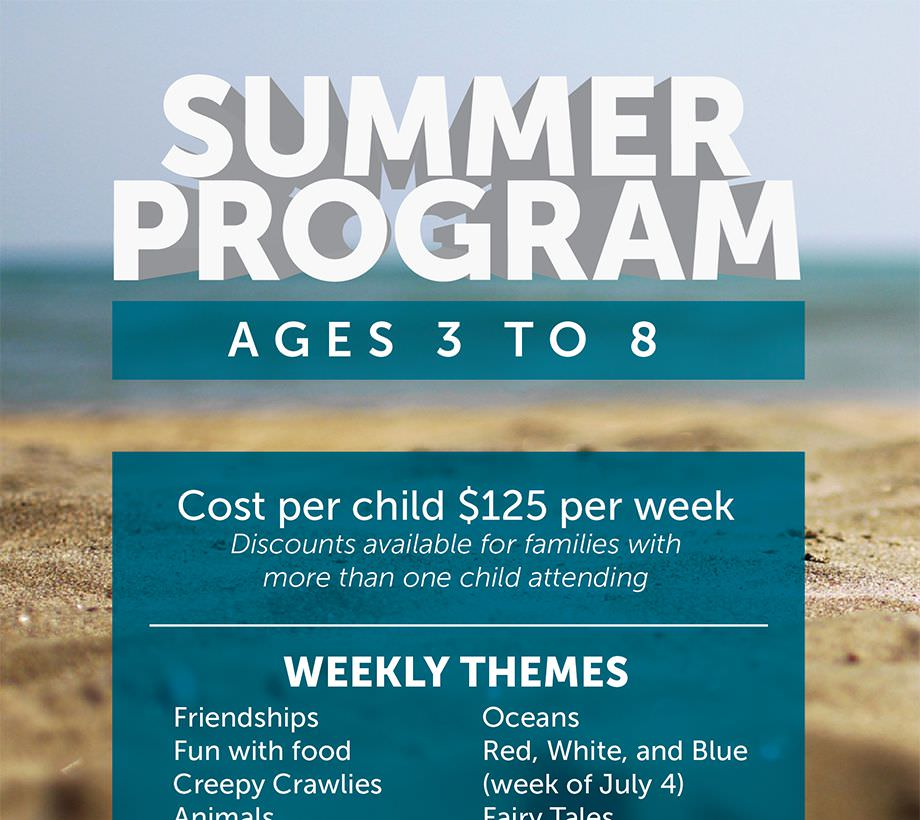 Lakeside Christian Preschool Summer Registration